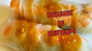 Easy way to prepare the Rouleaux de Printemps