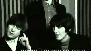 The Beatles interview 1965 Rare! (Exclusive).