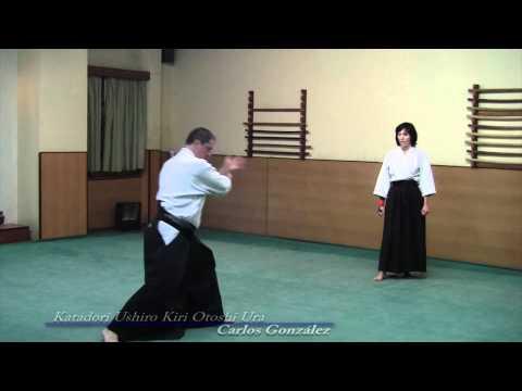 Aikido, Katadori Ushiro Kiri Otoshi Ura, Carlos Gonzalez
