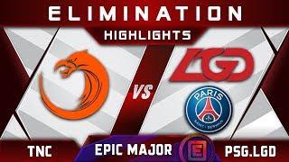 TNC vs PSG.LGD [EPIC TOP 4] EPICENTER Major 2019 Highlights Dota 2