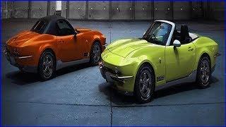 光岡自動車は、新型車の『ロックスター』の先行予約受注を開始した