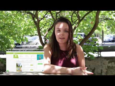 Video Son insertion professionnelle à l'Université Paris-Saclay