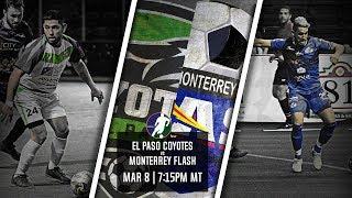 El Paso Coyotes vs Monterrey Flash