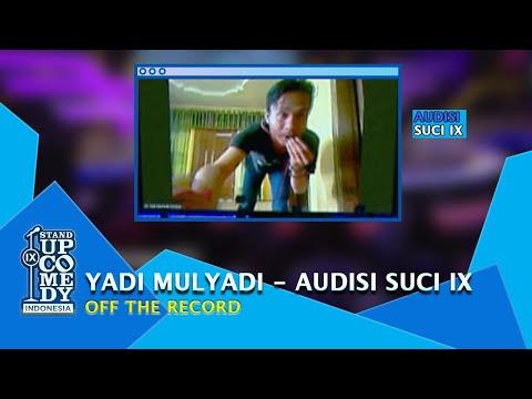 Stand Up Comedy Yadi Mulyadi 'Badot': Petani Itu Berpolitik, Buktinya... - AUDISI SUCI IX