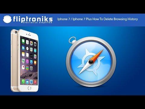 Iphone 7 / Iphone 7 Plus How To Delete Internet Browsing History - Fliptroniks.com