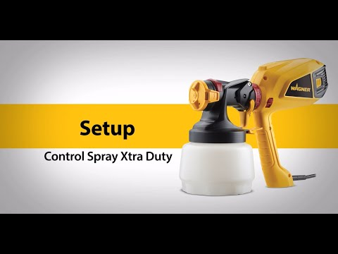 Wagner Control Spray Xtra Duty Setup Video