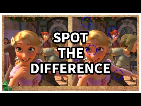 Disney Princess Game: Can You Spot The Difference? (WARNING: EXTREMELY DIFFICULT)