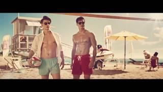 Реклама Fresh Bar про волейбол на пляже с девушками и парнями