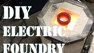 How to Make an Electric Foundry For Metal Casting - Part 1 - Video Youtube
