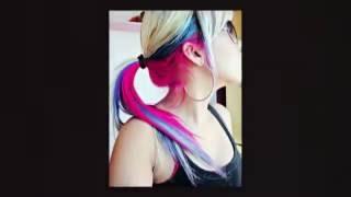 The Latest Bright Hair Color Ideas