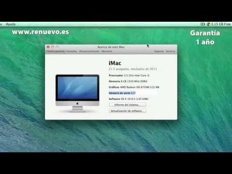 Cómo ver las especificaciones de un Mac de segunda mano