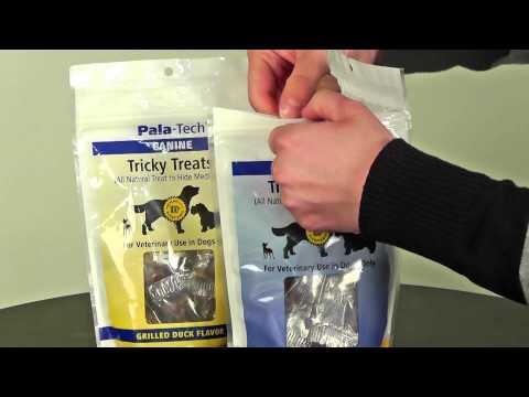 Pala-Tech Canine Tricky Treats - Roasted Chicken Flavor (5.29 oz) Video
