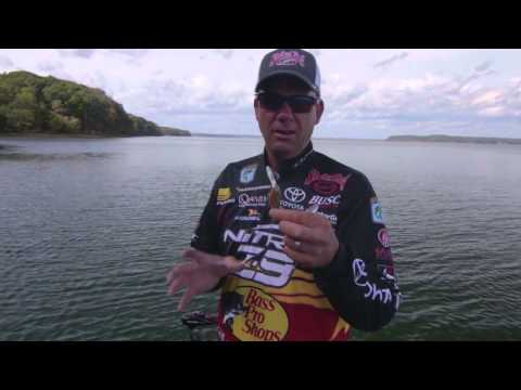 Fishing Power Baits in Cold Water with Kevin VanDam