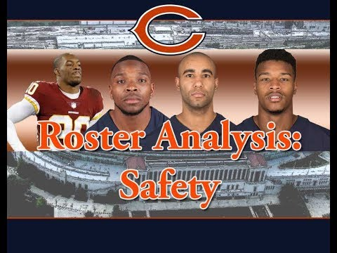Chicago Bears Roster Preview: Safeties (episode 3)