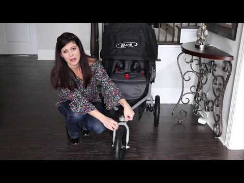 NEW BOB Rambler Jogging Stroller Review with Baby Gizmo