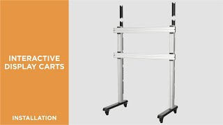How to Install Interactive Display Cart - TTL09-812FW