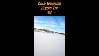 Cold Weather FPV Flying Tip 4 - #shorts