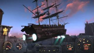 Fallout 4 - Last Voyage of the U.S.S. Constitution Ending (SPOILERS)