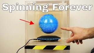 Will a Levitating Earth Spin Forever in a Vacuum Chamber? The Earth in Space Experiment - Video Youtube