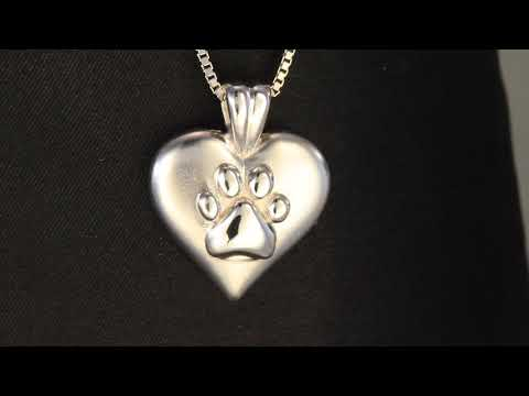 I Love Dogs Pendant in 14kt Gold