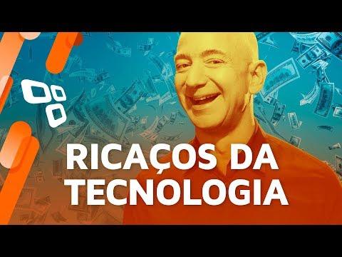 Os 10 mais bilionários do mundo da tecnologia