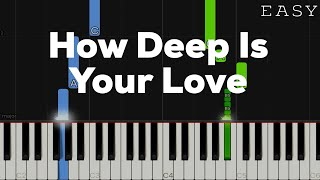 """Video thumbnail of """"How Deep Is Your Love - Bee Gees 