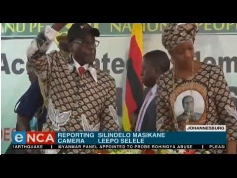 Reaction to no immunity for Grace Mugabe