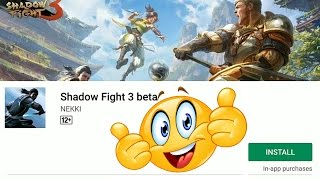 SHADOW FIGHT 3 BETA - ANDROID GAMEPLAY