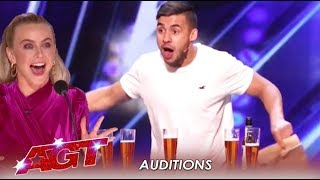 "Dom Chambers: The Australian ""Beer Chugging"" Magician 