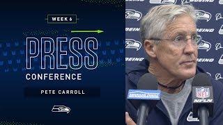 Head Coach Pete Carroll Week 6 Monday Press Conference | 2019 Seattle Seahawks
