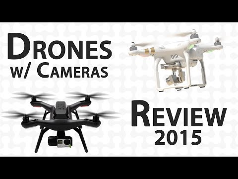 Top 3 Camera Drones – Review 2015
