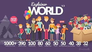 Explainer World (After Effects Template)