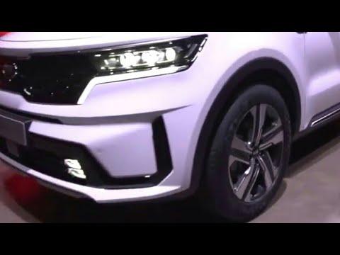 Novo Kia Sorento 2021: Motorização elétrica, potência combinada 2.5 turbo, Tecnologia...