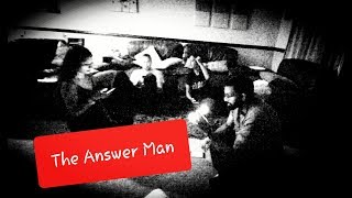 21st October - The Answer Man Game