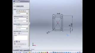 Solidworks 2011 - Tutorials - How To Make Weldment Profile