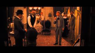 Dr Schultz Refusing To Shake Candie's Hand Scene (Django Unchained)