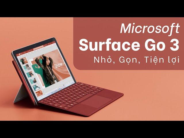 Microsoft Surface Go 3: Những thông tin chính