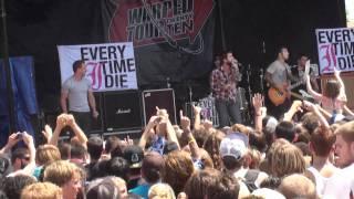 Everytime I Die - Marvelous Slut (feat  Greg Puciato) (Warped Tour Palm Beach FL 2010)