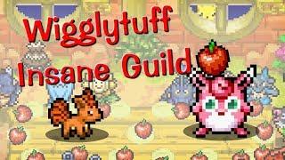 Wigglytuff  - (Pokémon) - Patafoin's life in Pokemon #1 Wigglytuff Insane Guild. Pokemon sprite animation