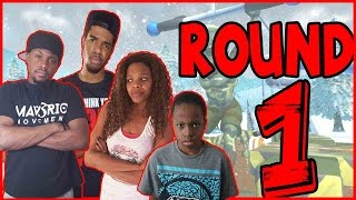 SHE CAN'T BE STOPPED!!! - Family Beatdown I Wipeout Xbox360 Gameplay