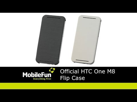 Official HTC One M8 Flip Cover Case Review