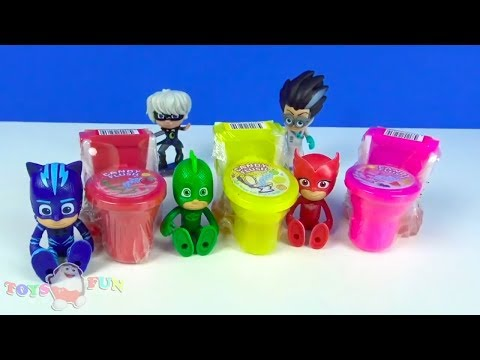 Pyjamahelden Spielzeug Pj Masks Toiletten gebaut Romeo will die verwandelnden Toiletten schnappen