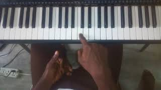 SINACH With All My Heart Piano Chord Tutorials