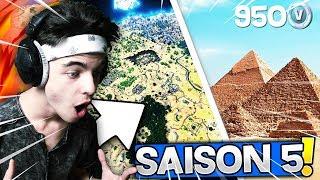🔴GEMI - On Attend Le *PASSE DE COMBAT SAISON 5* ⏳MAJ À 10H⏳ (OFFICIEL) ! Fortnite Gameplay Fr ✔️