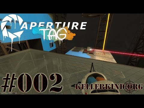 Aperture Tag #2 – Kniffeliges Rätsel ★ Let's Play Portal 2 Community Mods [HD|60FPS]