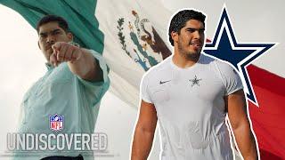 La nueva promesa mexicana que busca conquistar la NFL. Esto es Undiscovered: Isaac Alarcón