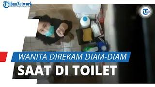 Viral Video Wanita Temukan Kamera di Toilet, Ternyata Direkam Petugas Kebersihan, Pelaku Kini Di-PHK