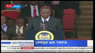 Rais Uhuru Kenyatta ameapa kuleta umoja baina ya wakenya