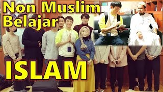 NON MUSLIM KOREA Belajar ISLAM Di Masjid Itaewon Sama Muslimah KOREA