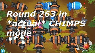 The 1 Tower CHIMPS Mode Challenge - Is It Possible? (Bloons